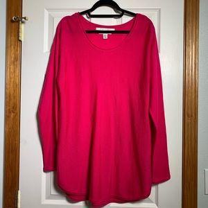 Max Studio Extrafine Merino Wool Sweater